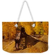 An Old Colorado Mine In Autumn Weekender Tote Bag