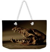 An Old Coyote Skull, Canis Latrans Weekender Tote Bag