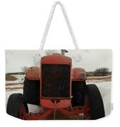 An Old Dase Tractor Weekender Tote Bag