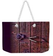 An Old Doorbell Weekender Tote Bag