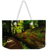An Old Fallen Tree Weekender Tote Bag