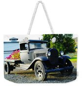 An Old Farm Truck  Weekender Tote Bag
