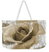 An Old Fashion Rose Weekender Tote Bag