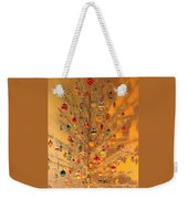 An Old Fashioned Christmas - Aluminum Tree Weekender Tote Bag