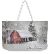 An Old Fashioned Merry Christmas Weekender Tote Bag