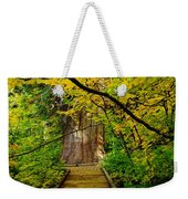 An Old Growth Douglass Fur In The Grove Of The Patriarches Mt Rainer National Park Weekender Tote Bag