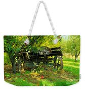 An Old Harvest Wagon Weekender Tote Bag