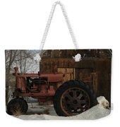 An Old John Deer Weekender Tote Bag by Jeff Swan