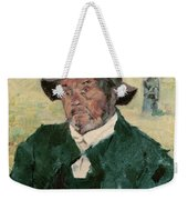 An Old Man, Celeyran, 1882 Oil On Canvas Weekender Tote Bag