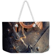 An Old Metal Decorated  Door Handle Weekender Tote Bag