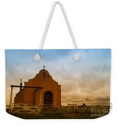An Old Mission In Northeastern Montana Weekender Tote Bag