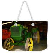 An Old Restored John Deere Weekender Tote Bag