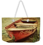 An Old Row Boat Weekender Tote Bag