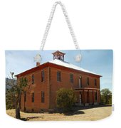 An Old School In White Oaks New Mexico Weekender Tote Bag