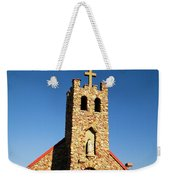 An Old Stone Church Weekender Tote Bag