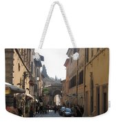 An Old Street In Assisi Italy  Weekender Tote Bag