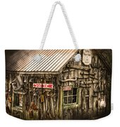 An Old Tool Shed Weekender Tote Bag