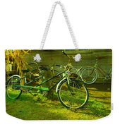 An Old Two Seater Weekender Tote Bag