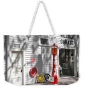 An Old Village Gas Station Weekender Tote Bag