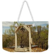 An Old Well In Lincoln City New Mexico Weekender Tote Bag