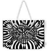 An Optical Illusion Weekender Tote Bag
