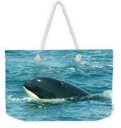 An Orca Surfaces  Weekender Tote Bag