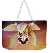 An Orchid Weekender Tote Bag