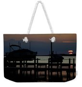 An Outer Anks Of North Carolina Sunset Weekender Tote Bag