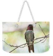 Ana Hummingbird Weekender Tote Bag