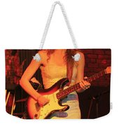 Guitarist Ana Popovic Weekender Tote Bag