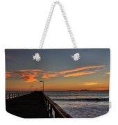 Anacapa Island Pier Weekender Tote Bag