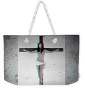Anaglyph Asian Female Jesus Weekender Tote Bag