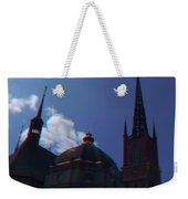 Anaglyph Church Weekender Tote Bag