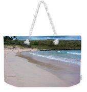 Anakena Sand Weekender Tote Bag