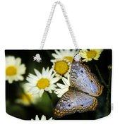 Anartia Jatrophae Weekender Tote Bag