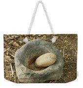 Anasazi Grinding Bowl Weekender Tote Bag