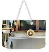 Anastasia Boating On Lake Erie Weekender Tote Bag
