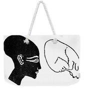 Anatomy: Human Cranium Weekender Tote Bag
