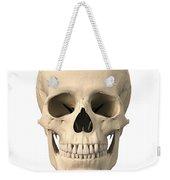Anatomy Of Human Skull, Front View Weekender Tote Bag