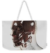 Anatomy Of Male Facial Muscles, Side Weekender Tote Bag