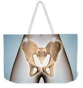 Anatomy Of Pelvic Bone On Female Body Weekender Tote Bag