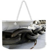 Anchor Chain 02 Queen Mary Ocean Liner Long Beach Ca Weekender Tote Bag