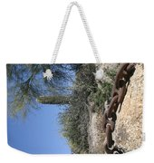 Anchor Chain In The Desert Weekender Tote Bag