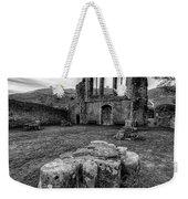 Ancient Abbey Weekender Tote Bag