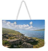 Ancient Archaeological Site On The Coast Of Crimea Ukraine Weekender Tote Bag