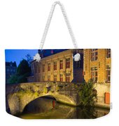 Ancient Bridge In Bruges  Weekender Tote Bag