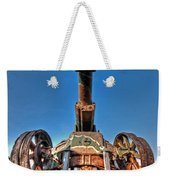 Ancient Cannon From Ww2 Weekender Tote Bag