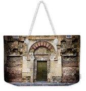 Ancient Door To The Mezquita In Cordoba Weekender Tote Bag