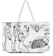Ancient Egypt: Childbirth Weekender Tote Bag