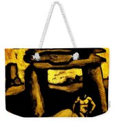 Ancient Grunge Weekender Tote Bag by John Malone